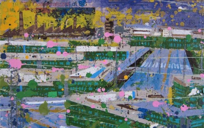 atmosfear mixed media on canvas 40x50 cm 2021
